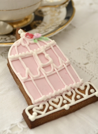 BIRDCAGE COOKIE FAVOUR
