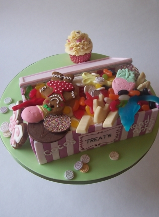 CANDY BOX BIRTHDAY CAKE FOR GIRL