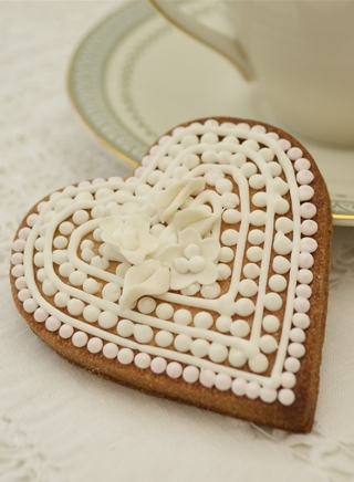 HEART COOKIE FAVOUR