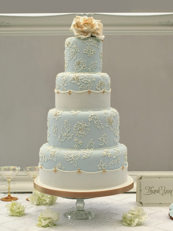 baby blue and gold wedding cake 1000 images about wed cake dessert on 10991
